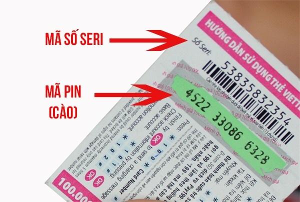 Các cách lấy lại số Seri bằng mã thẻ cào Viettel