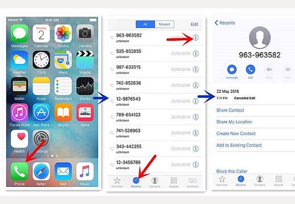 Tra cứu trên điện thoại iPhone