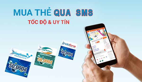 Mua thẻ cào điện thoại bằng sms mang lại nhiều lợi ích thiết thực
