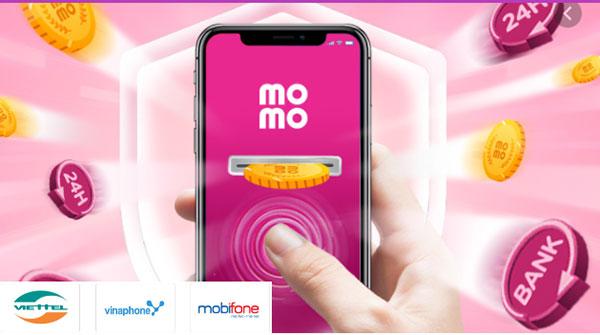 Momo - ứng dụng nạp thẻ chiết khấu cao uy tín thuộc top đầu hiện nay