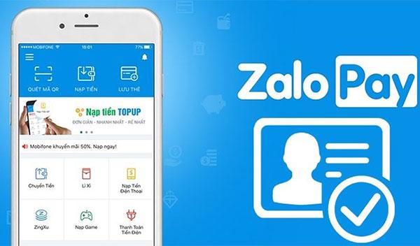 Zalo Pay - app nạp tiền nhanh, thanh toán đơn giản