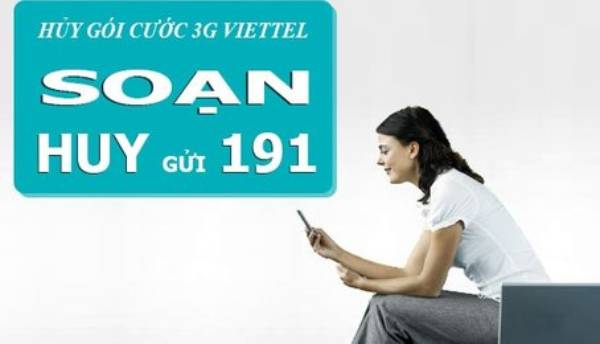 Cách hủy dịch vụ 3G Viettel nhanh bằng tin nhắn