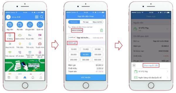 Cách nạp tiền trực tuyến Mobifone trên ứng dụng My Mobifone cực đơn giản