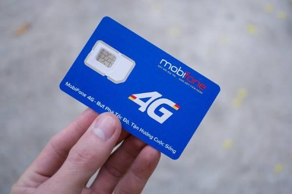 Đối tượng đăng ký gói cước 4G của nhà mạng Mobifone