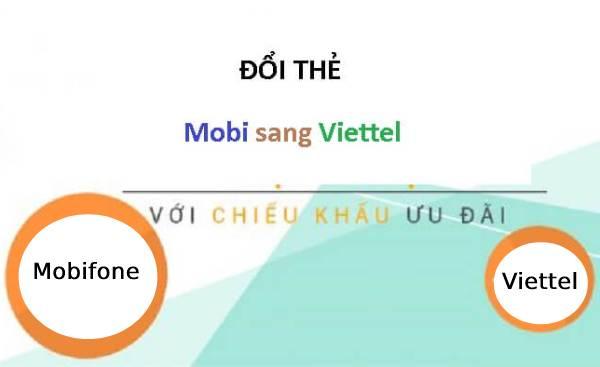 Tại sao phải đổi thẻ Mobifone sang Viettel?