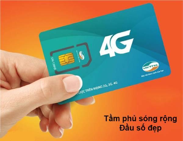 Sim Viettel 4G - Công nghệ truyền thông không dây đời thứ 4