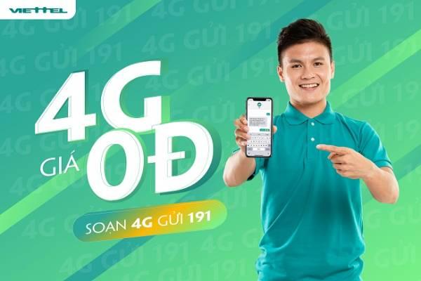 Sim Viettel 4G bao nhiêu tiền tùy thuộc vào dung lượng sử dụng