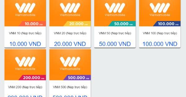 Mệnh giá thẻ cào đa dạng giúp người dùng có nhiều lựa chọn hơn