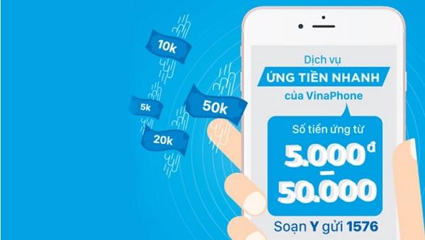 Điều kiện để tạm ứng tiền sim VinaPhone
