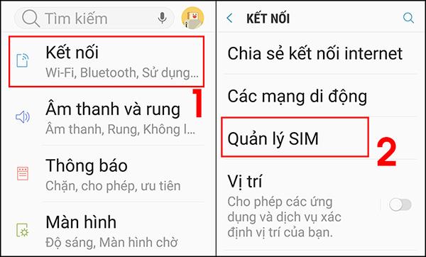 Cài đặt eSIM trên điện thoại Android