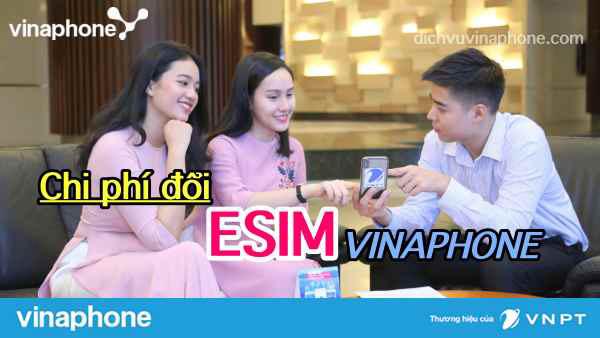 Đăng ký eSIM Vinaphone tại cửa hàng giao dịch