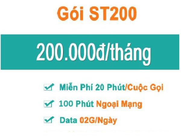 Điều kiện để đăng ký gói ST200