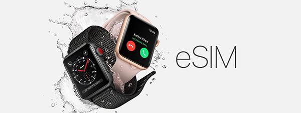 Đồng hồ thông minh hỗ trợ eSIM
