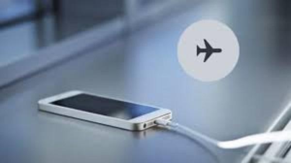 Điện thoại đang ở chế độ máy bay