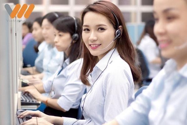 Gọi tổng đài chăm sóc khách hàng Vietnamobile để được hỗ trợ